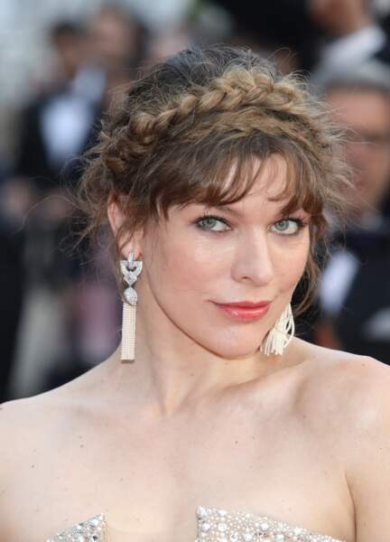 La couronne tressée de Milla Jovovich
