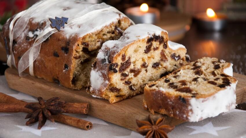 Gâteau de noël alsacien Stollen : découvrez les recettes de