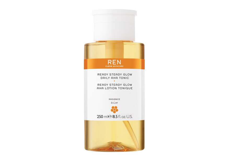 La lotion tonique AHA Ready Steady Glow, Ren