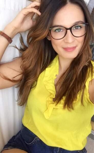 Les lunettes avec une coupe longue wavy