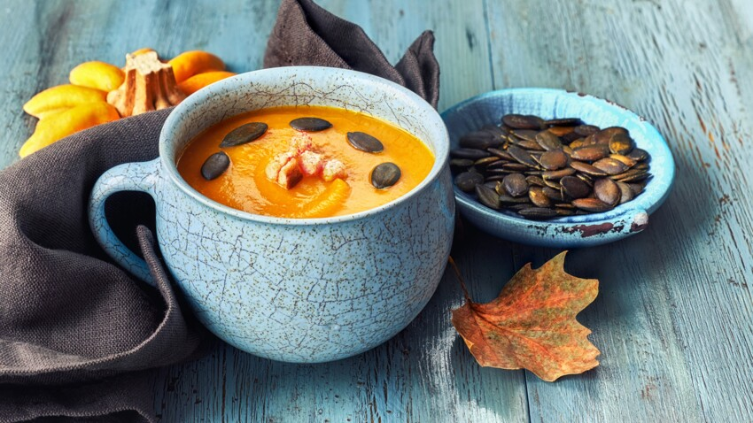 Toutes nos recettes de soupes au potimarron