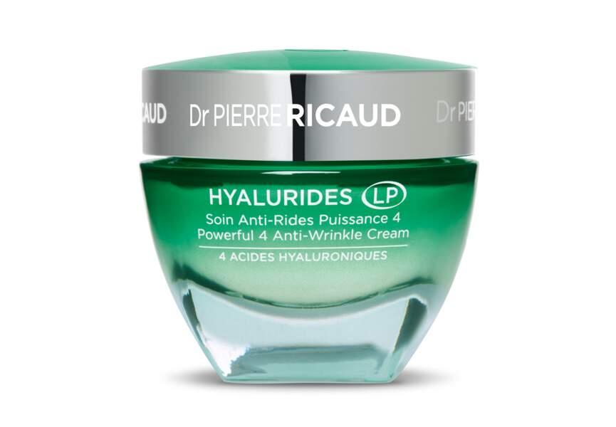 Le soin anti-rides puissance 4, Hyalurides LP, Dr Pierre Ricaud