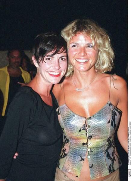Lio avec une coupe garçonne en 2001