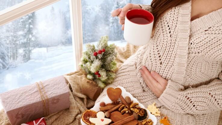 Enceinte : que puis-je manger à Noël ?