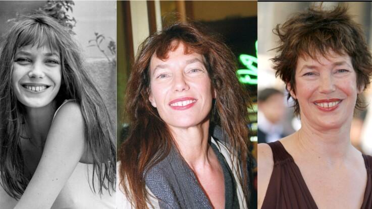 Jane Birkin : son évolution physique en images