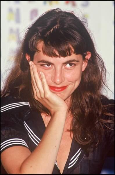 Lio avec une frange courte en 1992