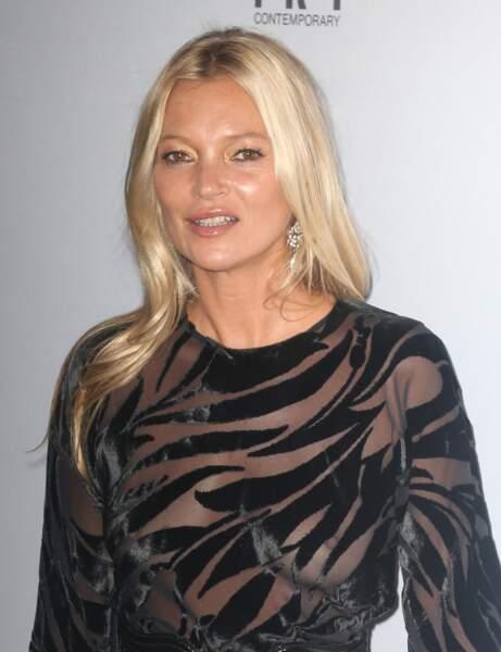 Kate Moss'un bozulmuş kesim