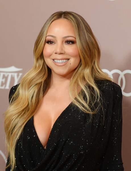 Mariah Carey'nin uzun saç kesimi