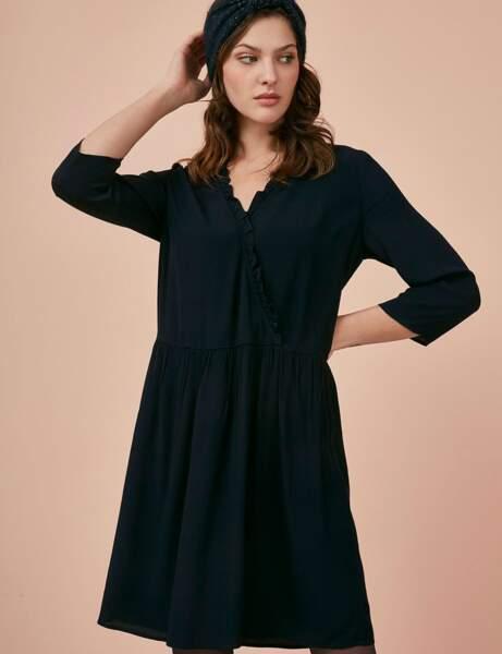 Siyah elbise: karıştırdı