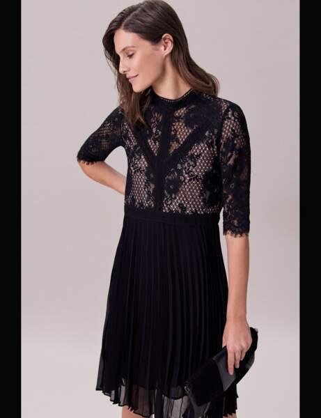 Siyah elbise: sonbahar-kış 2019-2020'nin en güzel modelleri 21 fotoğraf