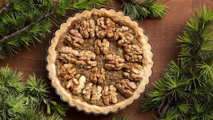 Au caramel, aux pommes ou au chocolat : nos meilleures recettes de tarte aux noix originales