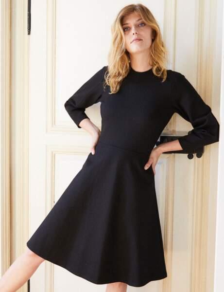 Siyah elbise: patenci