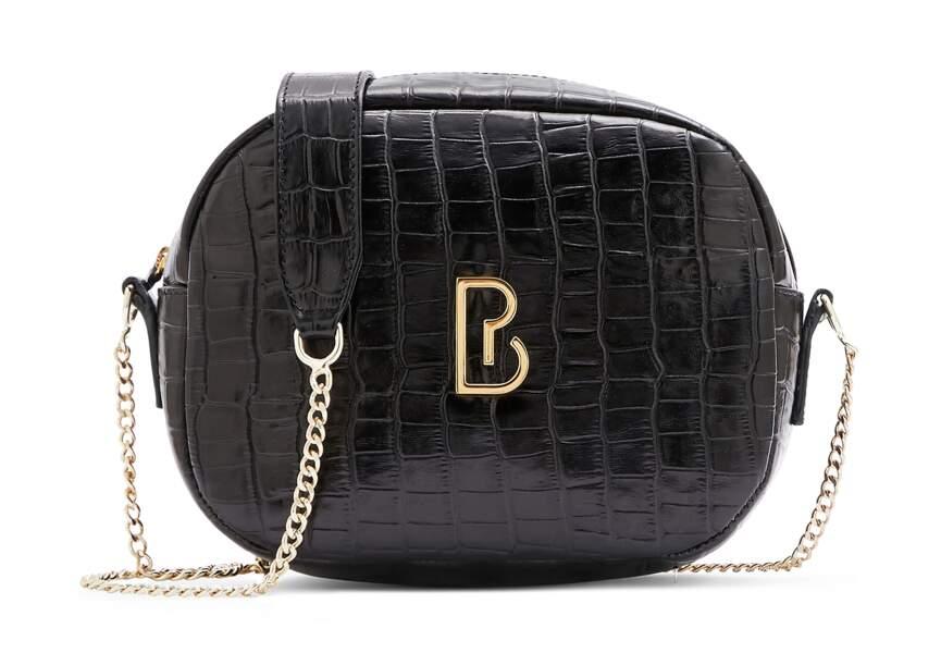 Son moda çanta: kabartmalı model