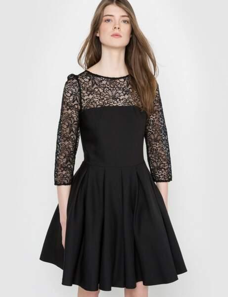 Siyah elbise: dansçı