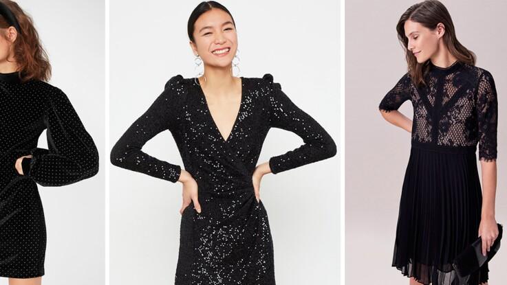 Petite robe noire : les nouveautés les plus canons de l'hiver pour toutes les morphos