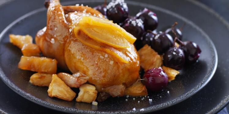 Cailles aux raisins : nos meilleures recettes