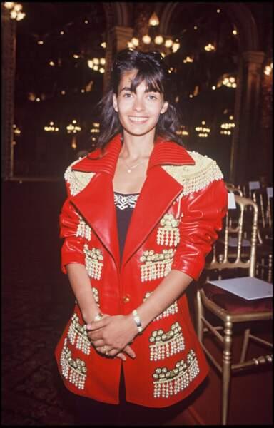 Adeline Blondieau en 1992