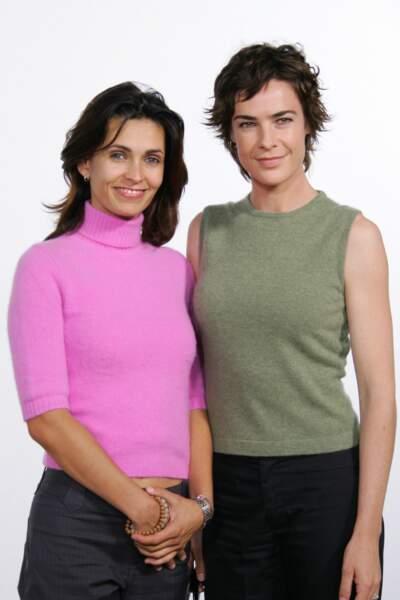 Adeline Blondieau et Bénédicte Delmas en 2004