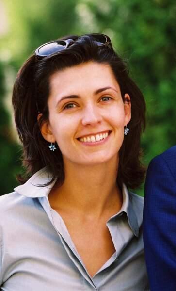 Adeline Blondieau en 2001, elle a 30 ans