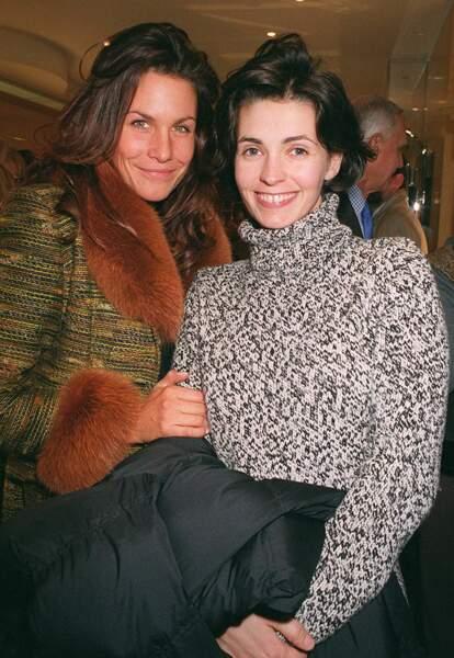 Adeline Blondieau et Astrid Veillon en 1999