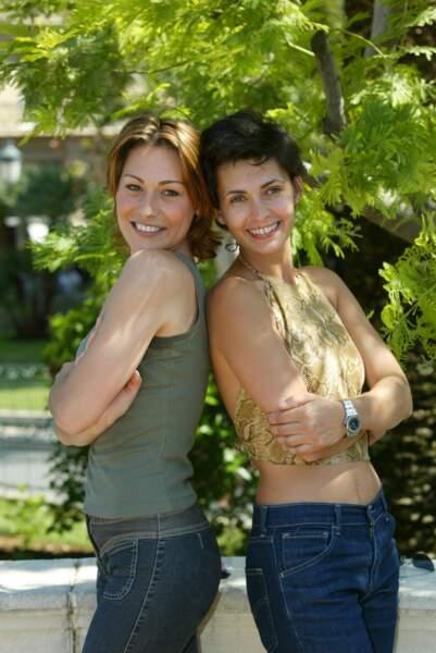 Adeline Blondieau et Shirley Bousquet en 2002