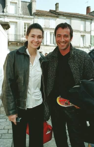 Adeline Blondieau et Bernard Montiel en 1997