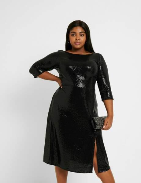 Yuvarlak moda: göz alıcı elbise
