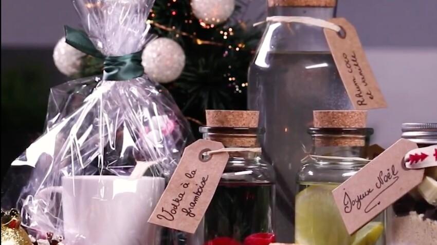 Cookies jar, kit à chocolat chaud, alcools arrangés : nos idées de cadeaux d'assiettes gourmands à faire pour Noël