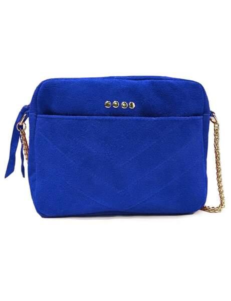 Klasik Mavi: omuz çantası