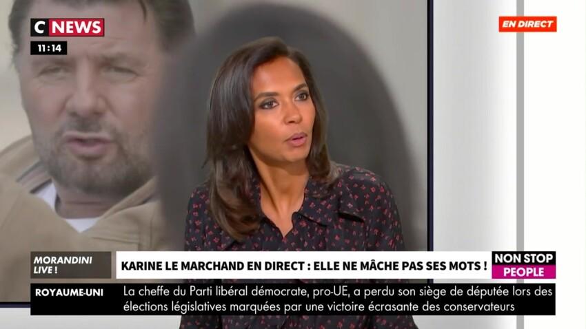 """Karine Le Marchand ne décolère pas contre """"TPMP"""", Cyril Hanouna lui répond"""
