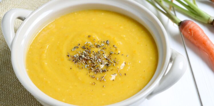 Soupe butternut pomme de terre carotte