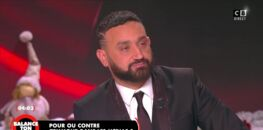 """Cyril Hanouna, en larmes, sur le plateau de """"Balance ton post"""" à cause d'une chroniqueuse"""