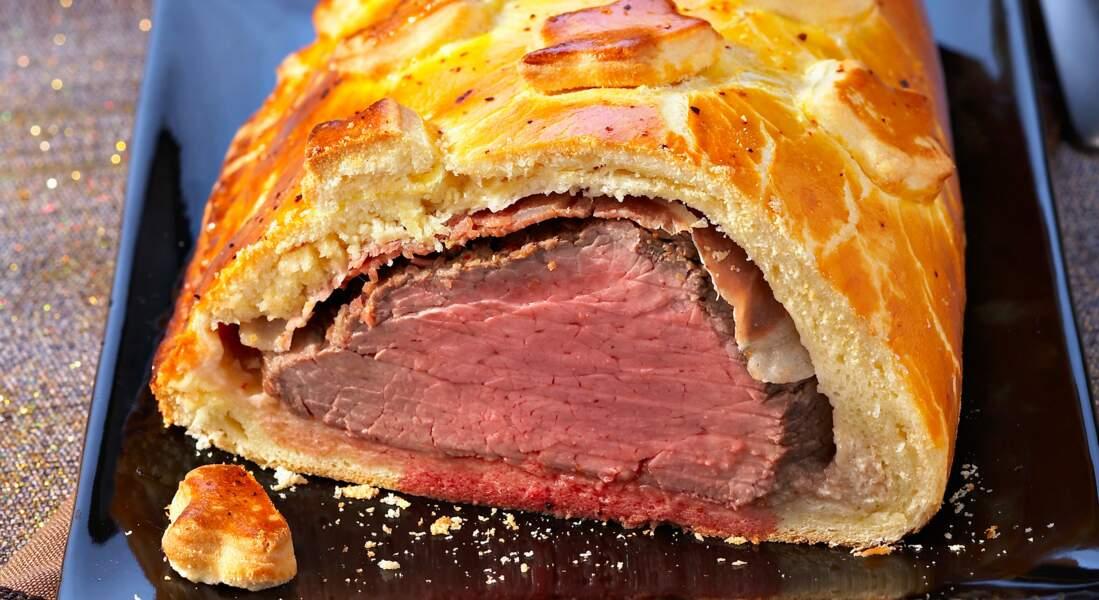Filet de bœuf en brioche