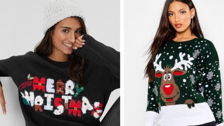Pulls de Noël : 15 modèles kitschs mais tendance pour les fêtes