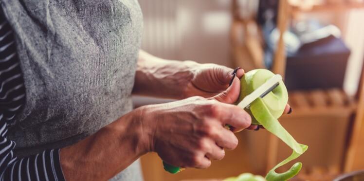 Vitamines, fibres : 12 fruits et légumes dont on devrait manger la peau