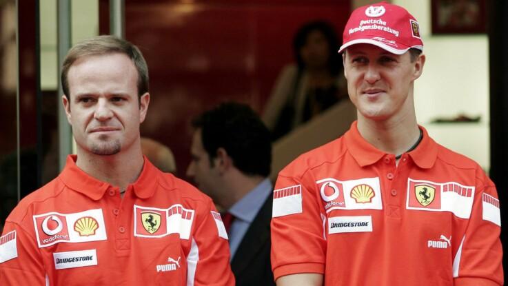 Michael Schumacher : son ancien coéquipier Rubens Barrichello balance sur le côté obscur du champion  de F1