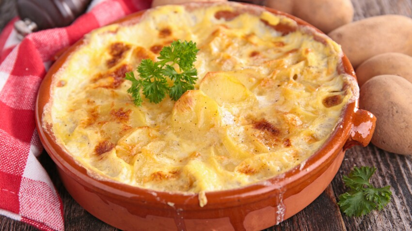 Gratin dauphinois fromage blanc