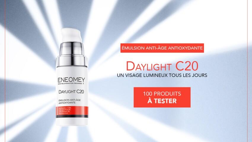 Testez la crème anti-âge Daylight C20 d'ENEOMEY