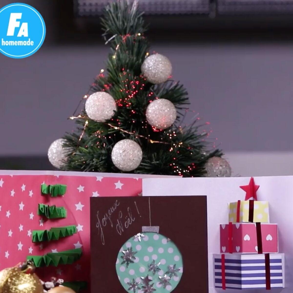 Carte De Voeux 3D A Fabriquer femme actuelle - 3 cartes de vœux pour noël