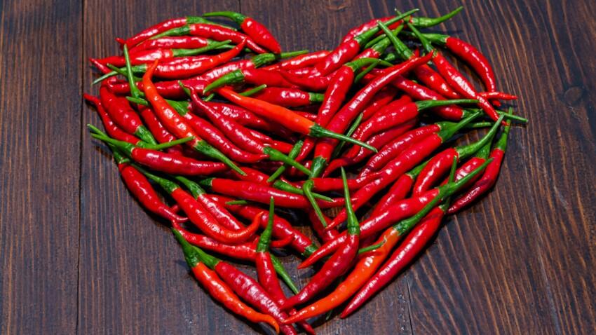 Pour protéger votre cœur, mangez du piment !
