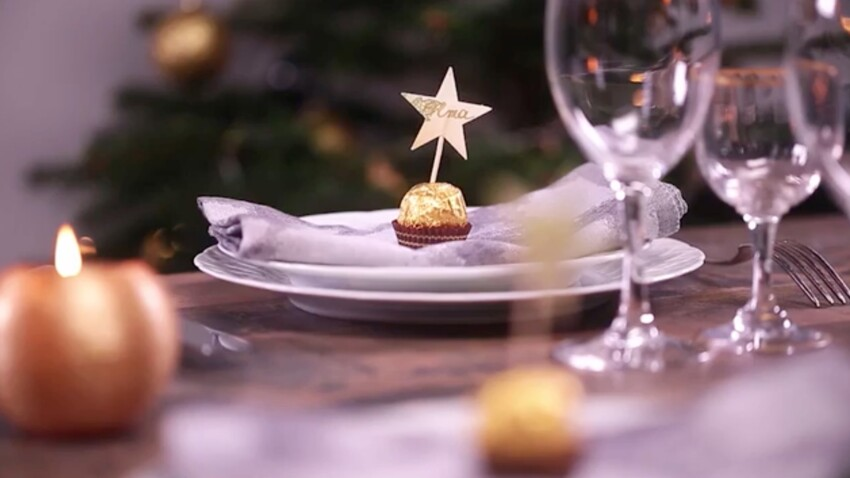 VIDEO – Des marques-places gourmands pour la table de Noël