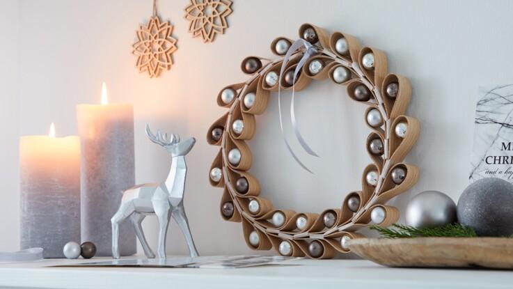 Bricolage express : 5 créations de déco de Noël