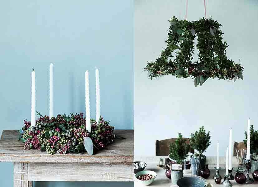 DIY : 3 créations végétales pour décorer la maison à Noël