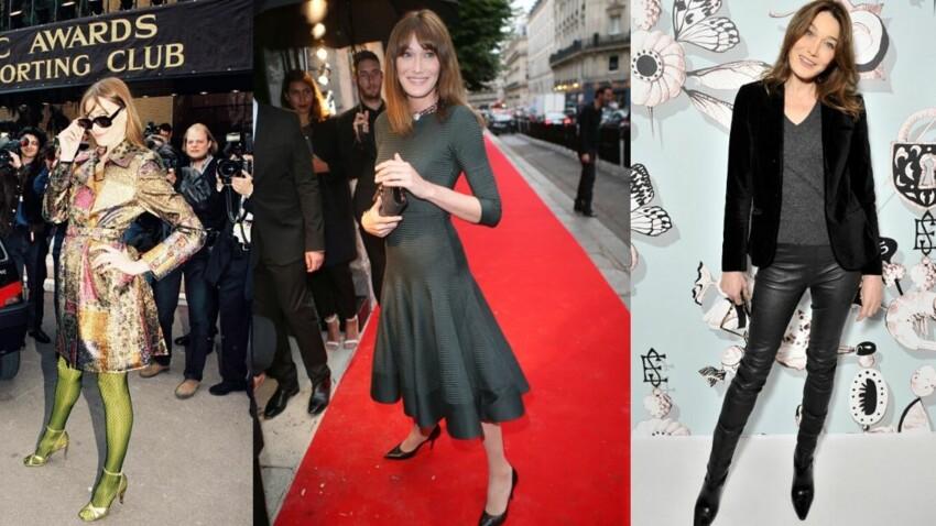 Carla Bruni : de top model à Première dame, découvrez son évolution mode en images