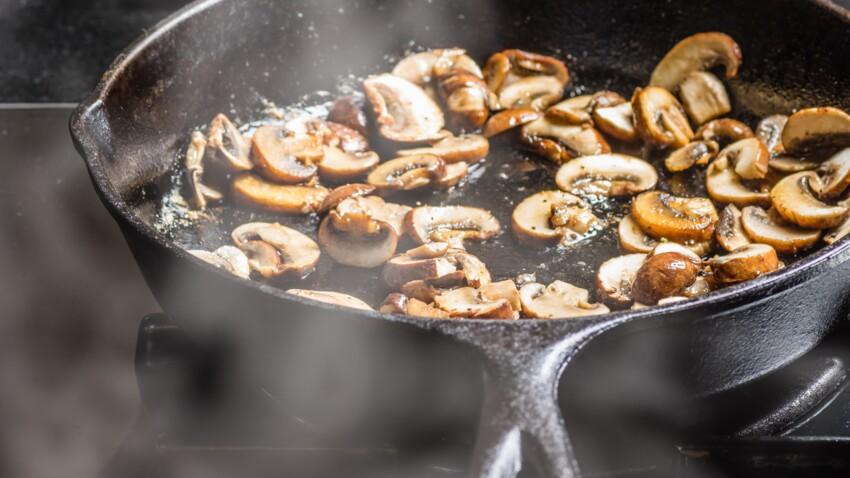 Comment couper des champignons ?