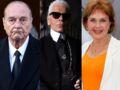 Rétro 2019 : Jacques Chirac, Karl Lagerfeld, Pascale Roberts... retour sur ces personnalités qui nous ont quittés cette année