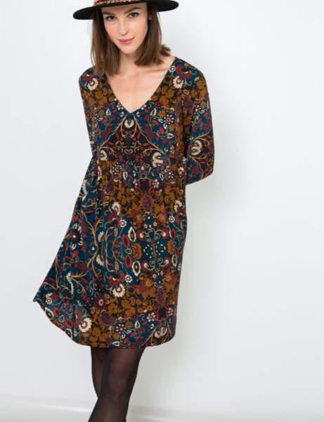 Tendance robe imprimée : woodstock