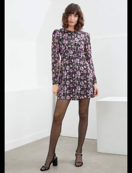 Tendance robe imprimée : ultra-violet