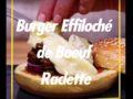 Burger effiloché boeuf raclette : la recette en vidéo