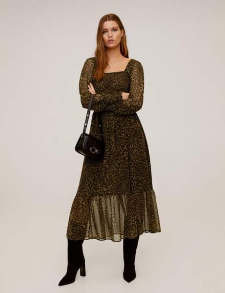 Tendance robe imprimée : léopard
